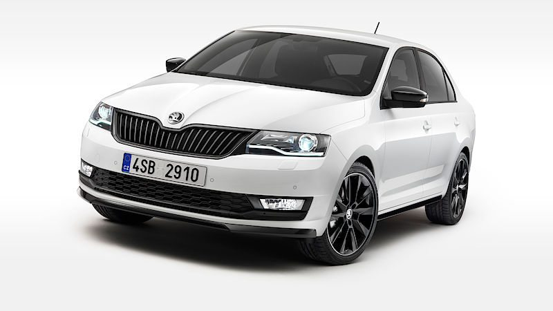 2017 Škoda Rapid Facelif